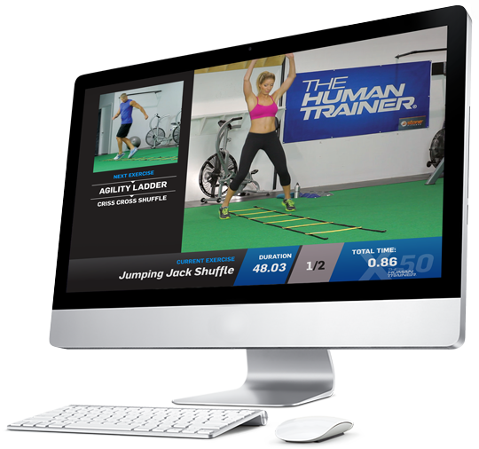 The Best Home Fitness Program - The Human Trainer X-50